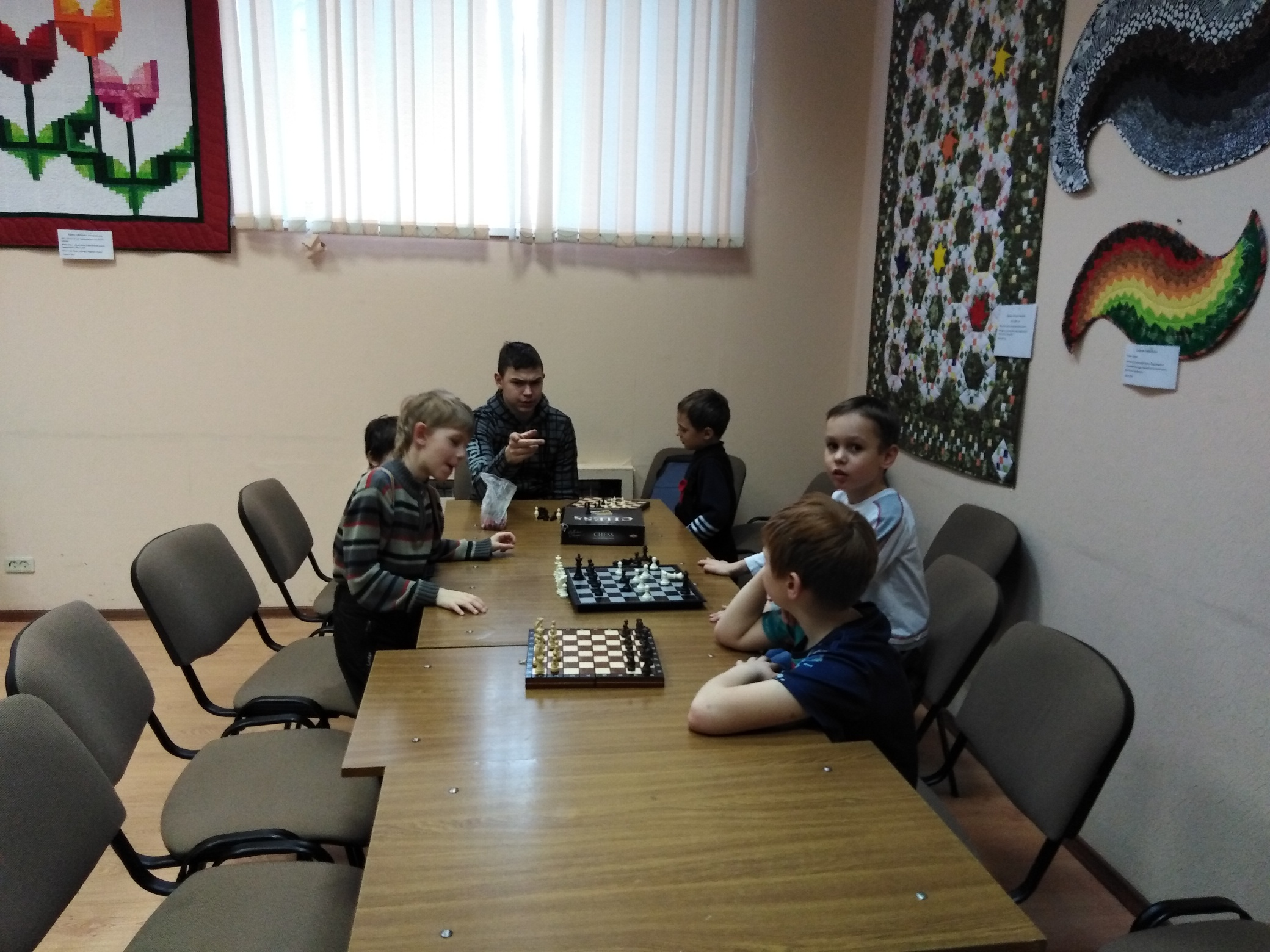 Шахматный клуб - Центральная библиотека-1