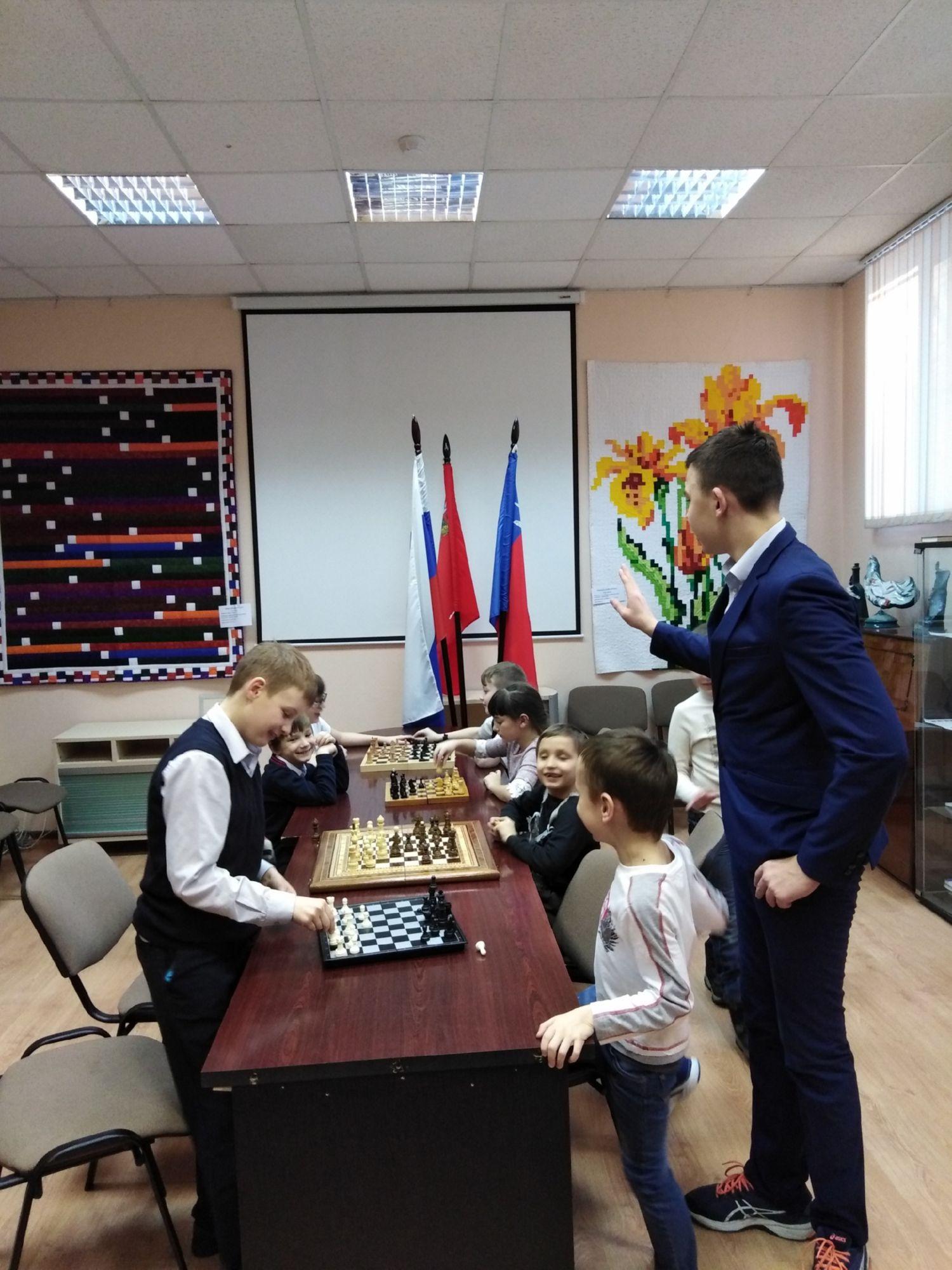 Шахматный клуб - Центральная библиотека (2)