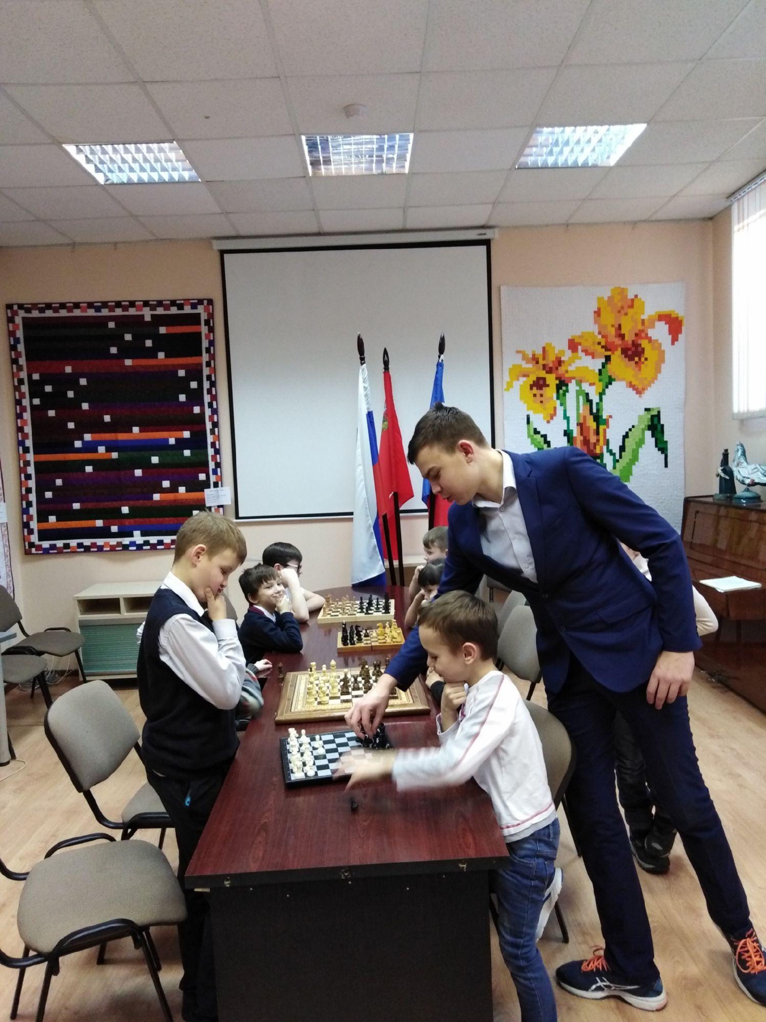 Шахматный клуб - Центральная библиотека (3)