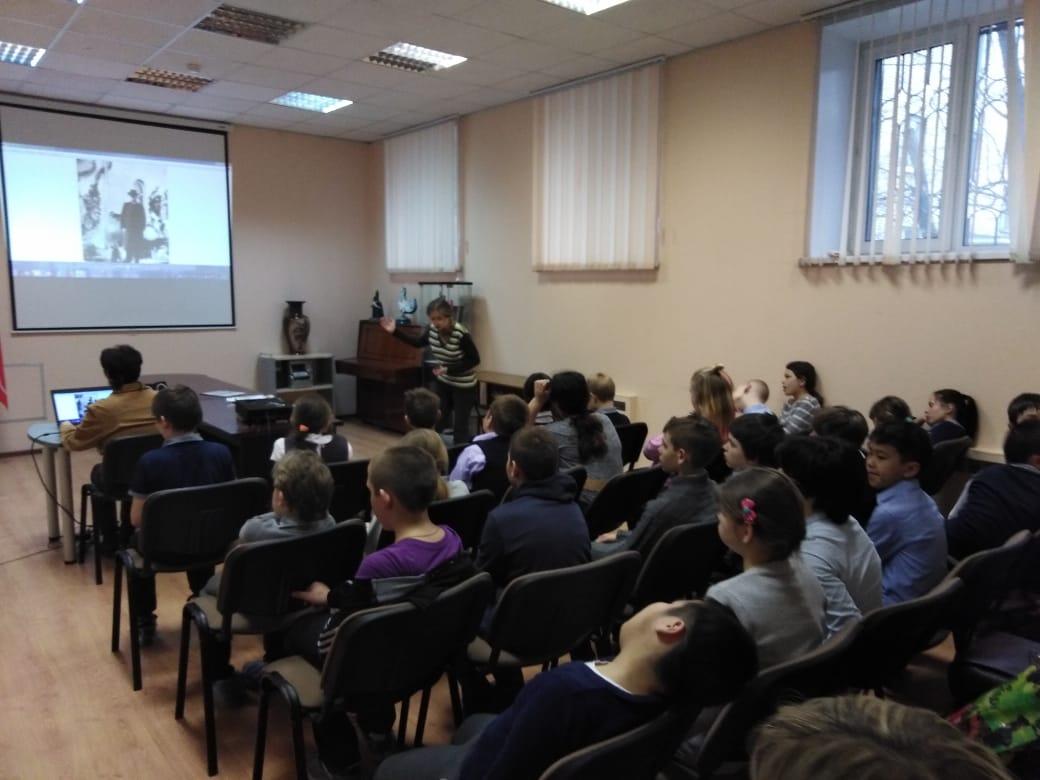 История собаки - занятие для учеников СКОШ-2