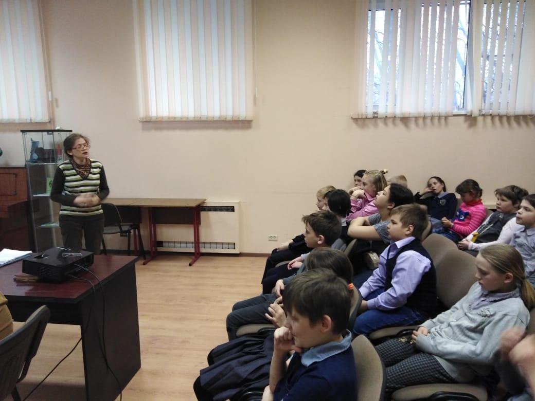История собаки - занятие для учеников СКОШ-3