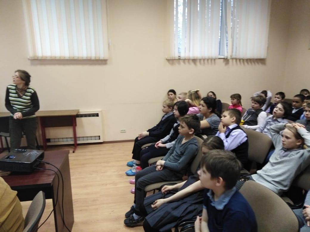 История собаки - занятие для учеников СКОШ-4