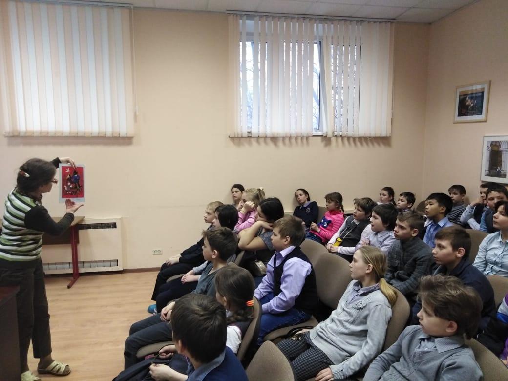 История собаки - занятие для учеников СКОШ-7