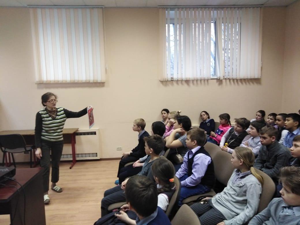 История собаки - занятие для учеников СКОШ-8