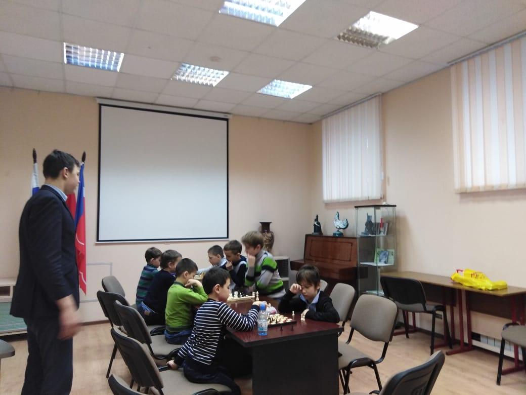 Шахматный клуб Степана Павловского (10.04.2019)