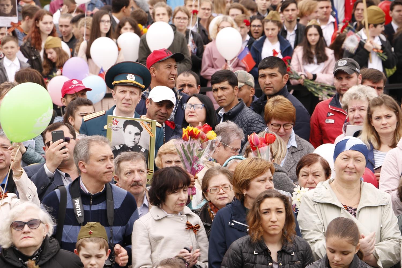 День Победы в городе Лобня – Центральная библиотека-2