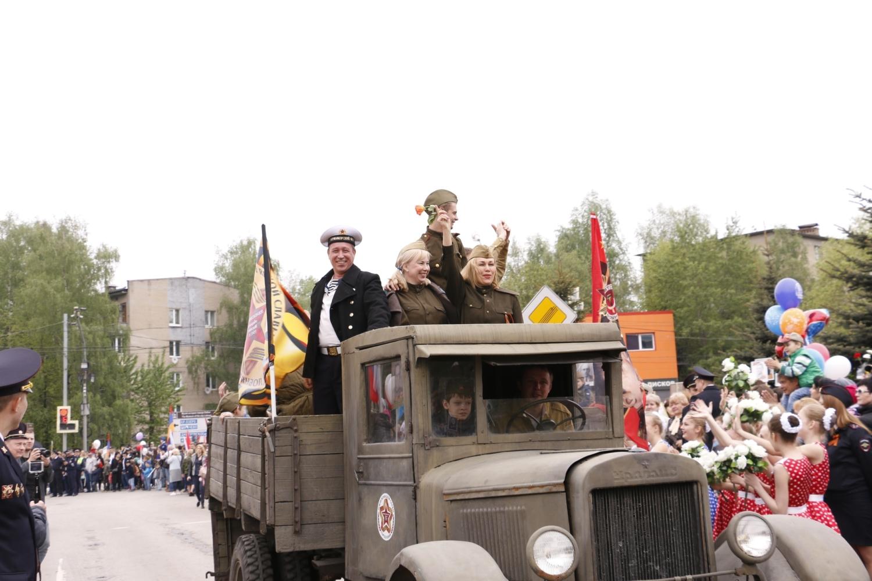 День Победы в городе Лобня – Центральная библиотека
