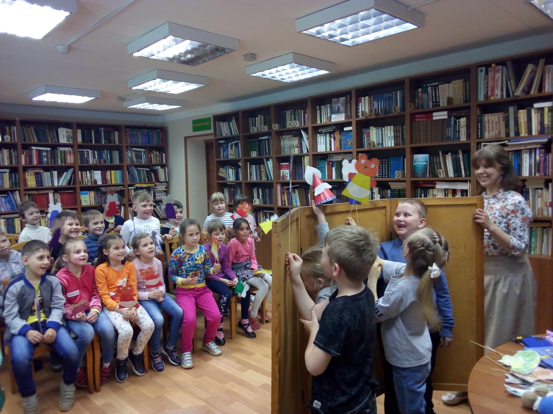 «От книги к театру» - Детская библиотека-6