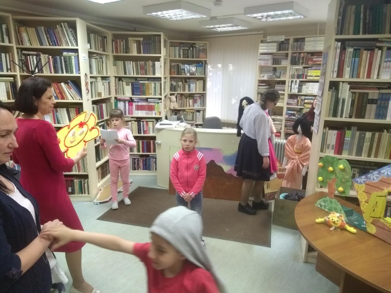 """Открытая репетиция творческой мастерской \""""Подсолнух\""""  - Детская библиотека.-1"""