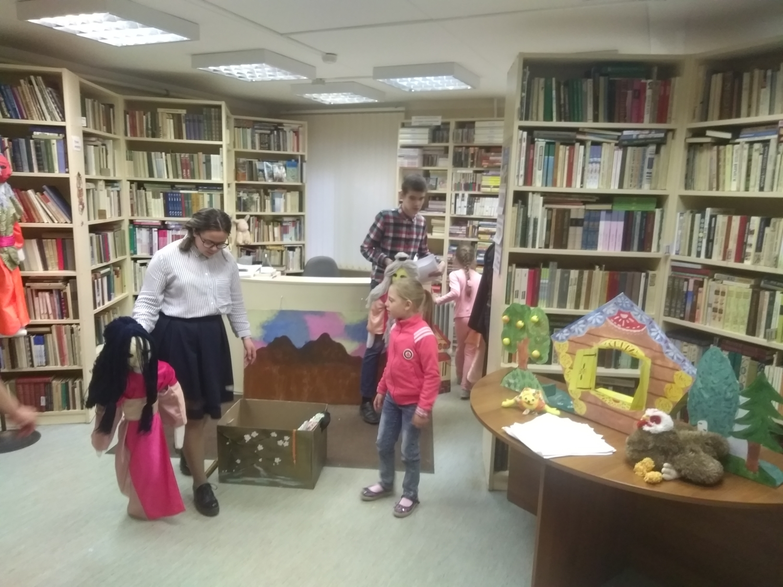 """Открытая репетиция творческой мастерской \""""Подсолнух\""""  - Детская библиотека."""