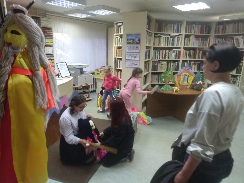 """Открытая репетиция творческой мастерской \""""Подсолнух\""""  - Детская библиотека.-2"""