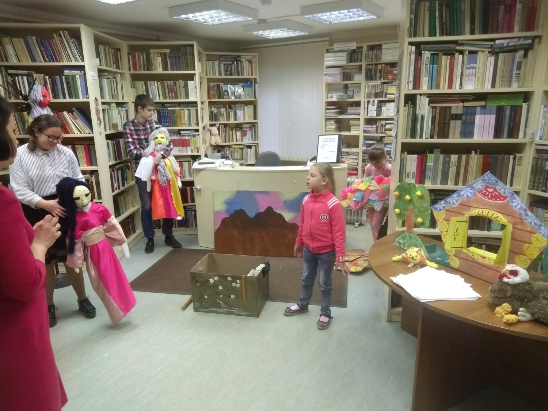 """Открытая репетиция творческой мастерской \""""Подсолнух\""""  - Детская библиотека.-3"""