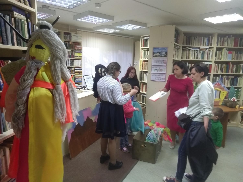 """Открытая репетиция творческой мастерской \""""Подсолнух\""""  - Детская библиотека.-5"""