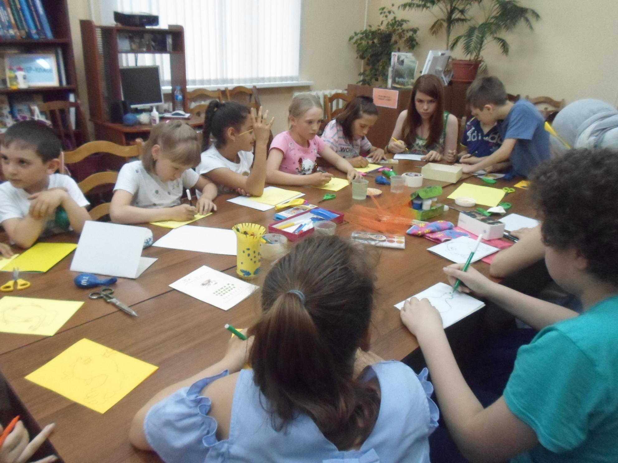 Открытка-коллаж «Золотая рыбка» - Краснополянская библиотека-3