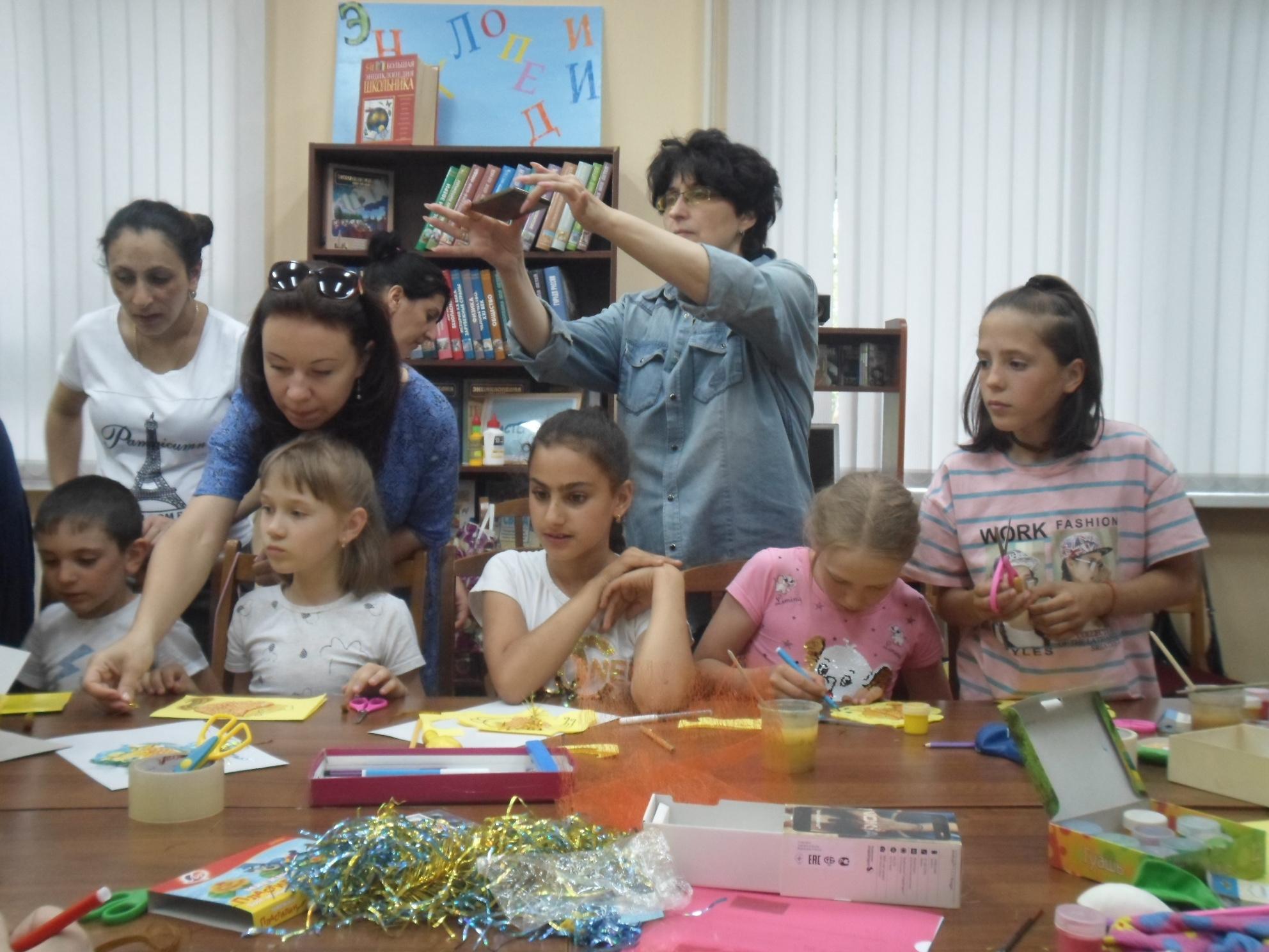 Открытка-коллаж «Золотая рыбка» - Краснополянская библиотека-5