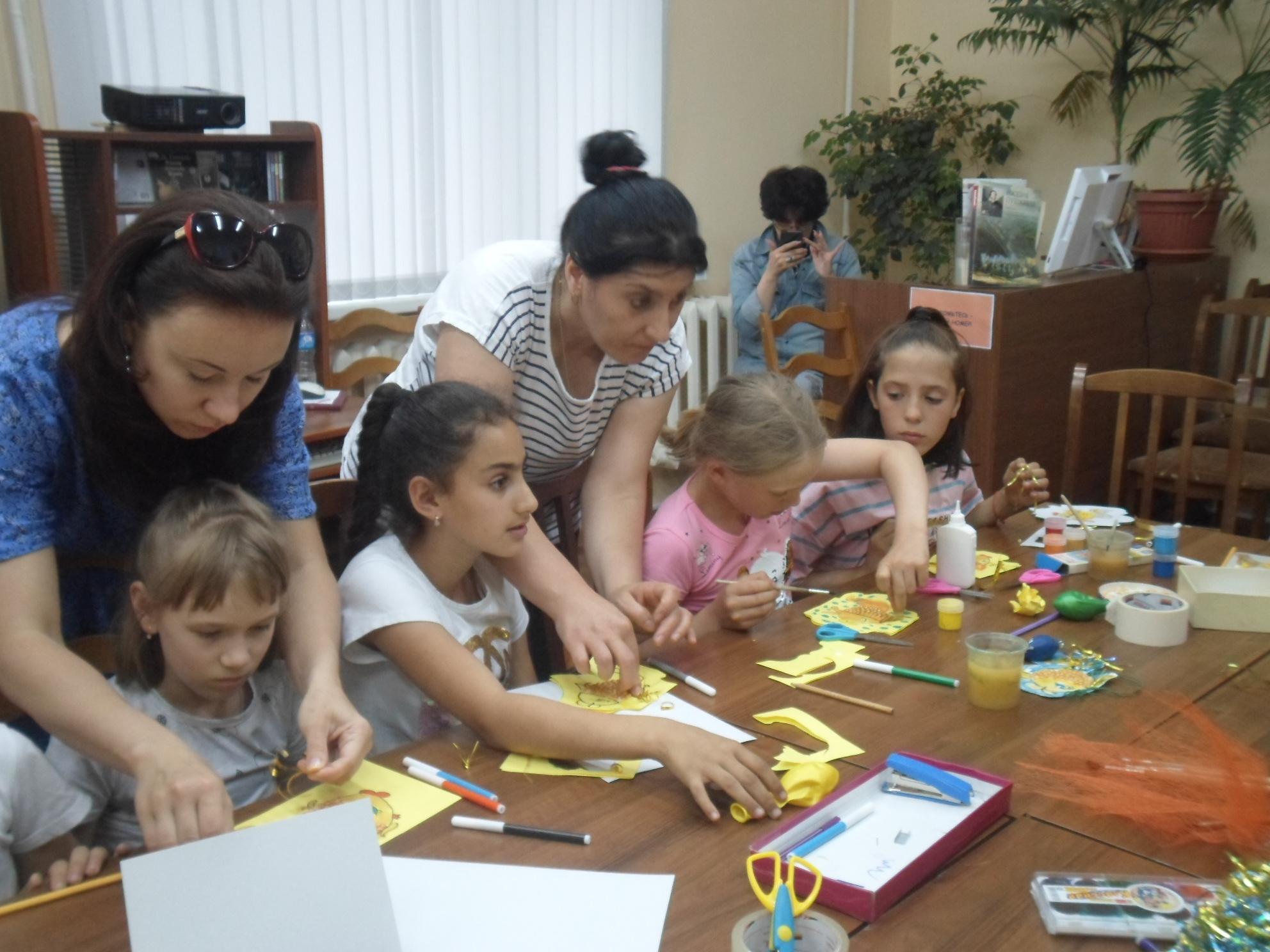 Открытка-коллаж «Золотая рыбка» - Краснополянская библиотека-8