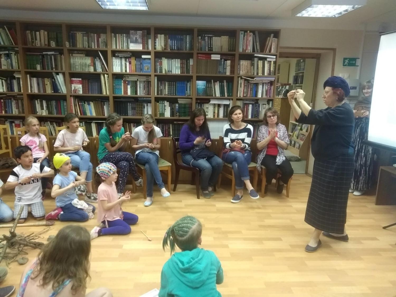 «Путешествие во времени»  в Детской библиотеке-2