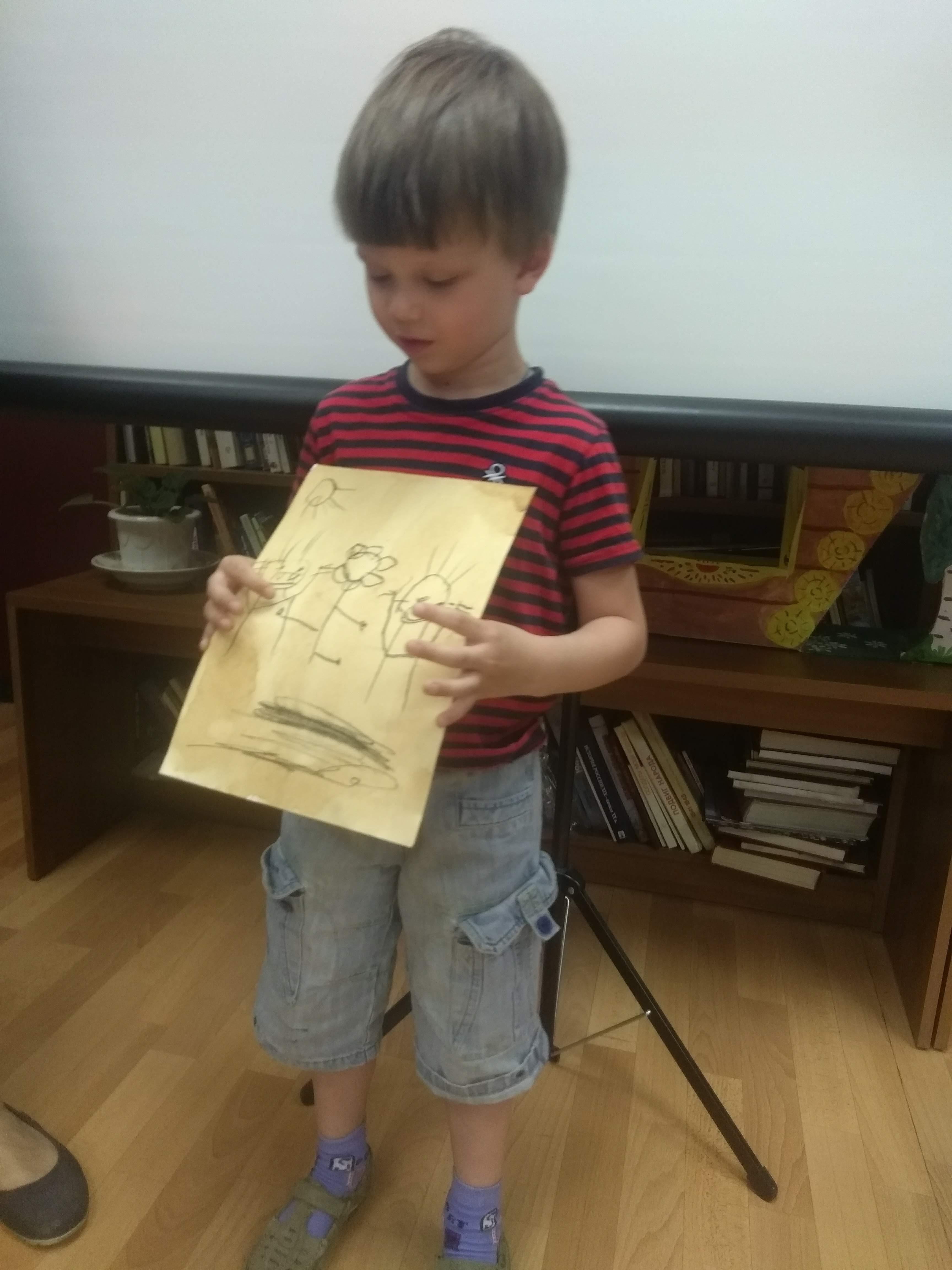 «Путешествие во времени»  в Детской библиотеке-9