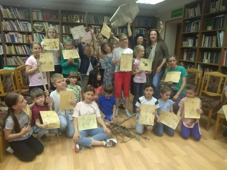 «Путешествие во времени»  в Детской библиотеке