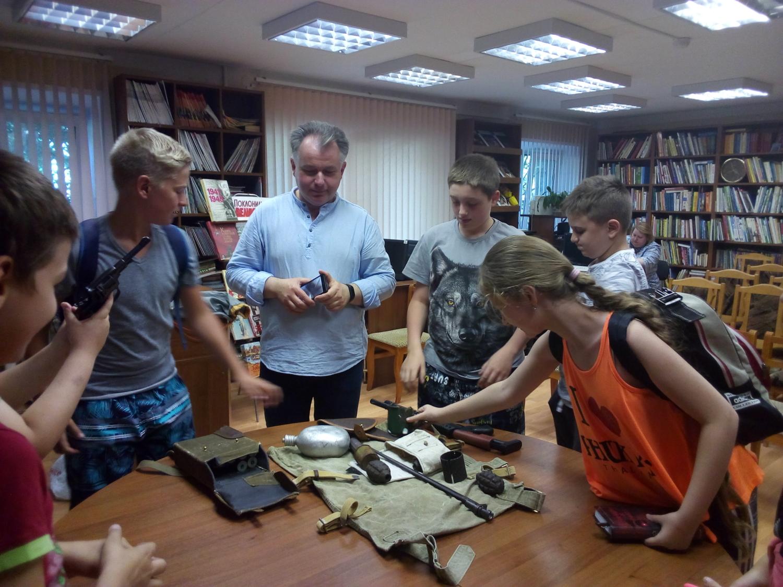 Солдатская память В рамках проекта «Моя Родина» Военно-патриотическая беседа ко Дню памяти и скорби-5