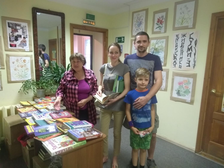 Книга в дар - Детская библиотека