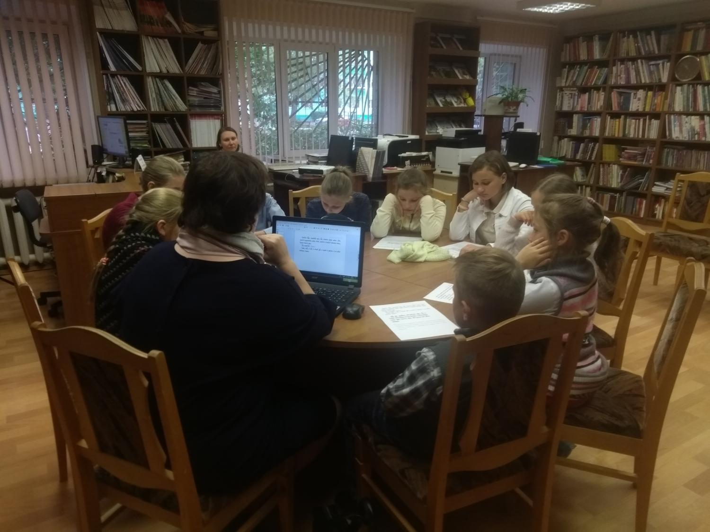 Воскресные занятия в Детской библиотеке-3
