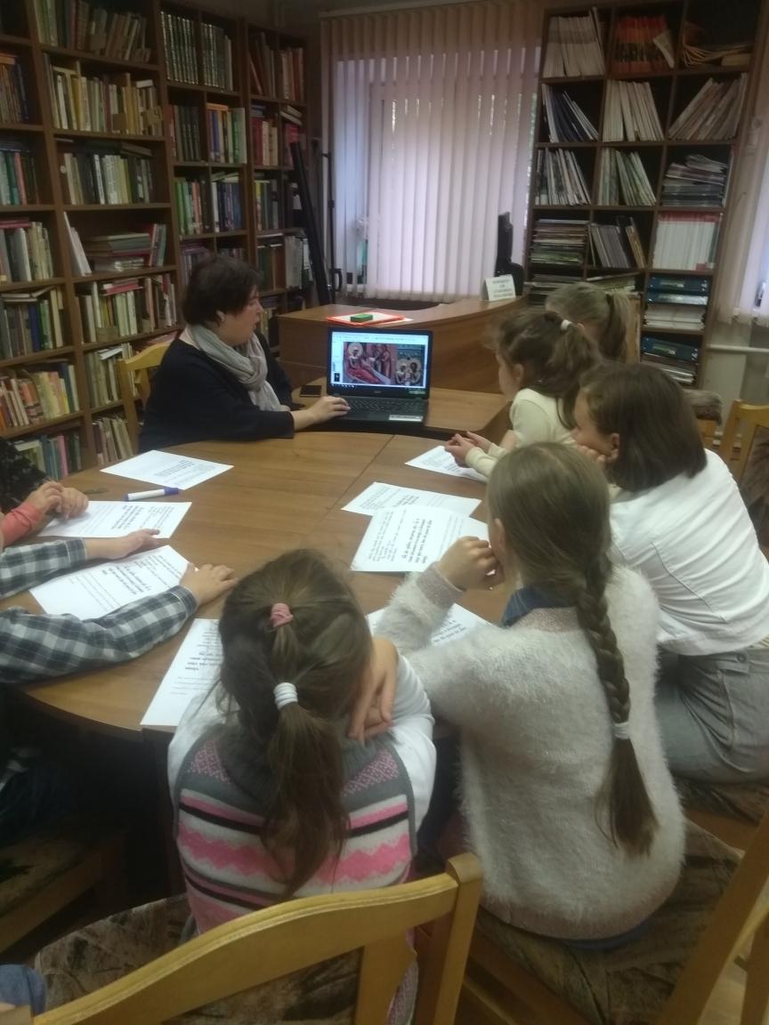 Воскресные занятия в Детской библиотеке-6
