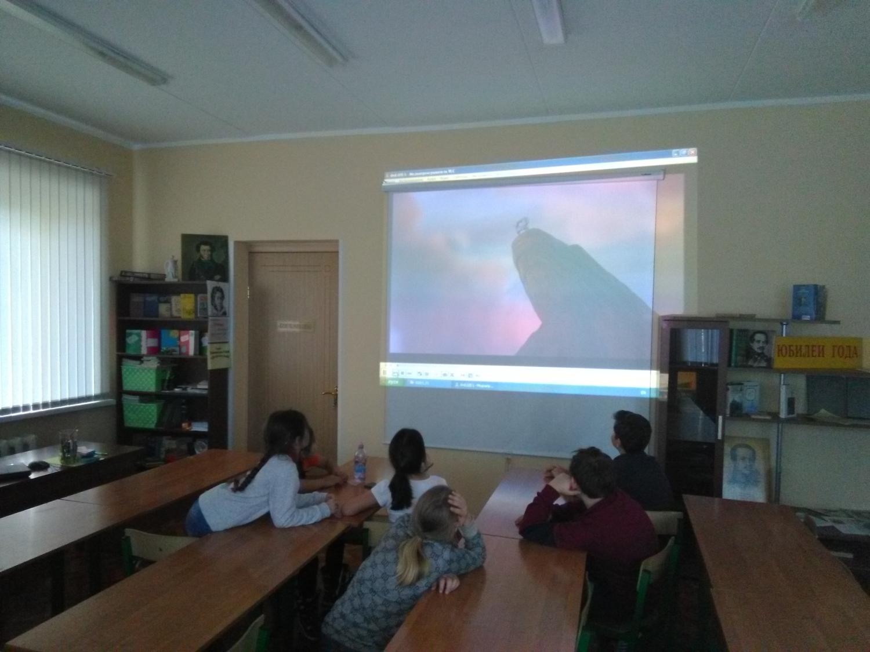 «Кино и знания» - Краснополянская библиотека-2