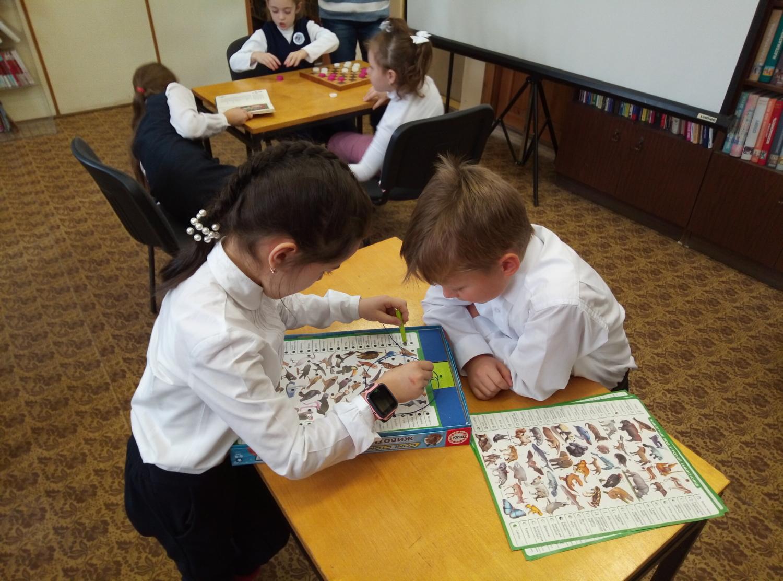 """Игротека в библиотеке - библиотека №5 мкрн.\""""Южный\""""-3"""