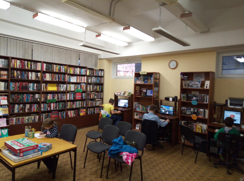 """Игротека в библиотеке - библиотека №5 мкрн.\""""Южный\""""-4"""