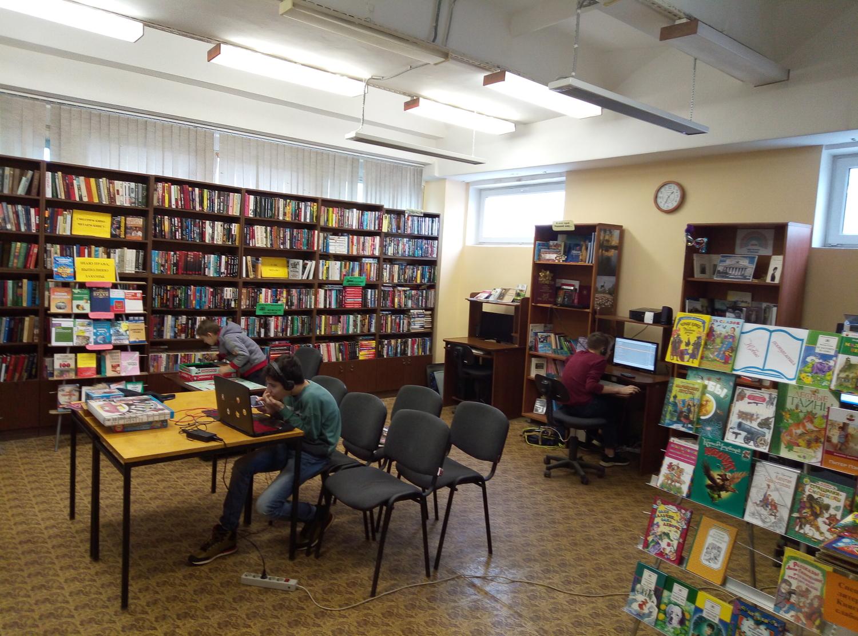 """Игротека в библиотеке - библиотека №5 мкрн.\""""Южный\""""-5"""