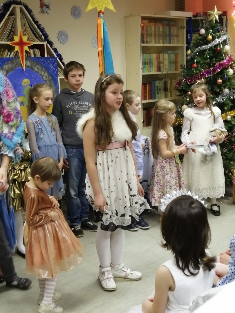 С Рождеством Христовым! - Детская библиотека-1