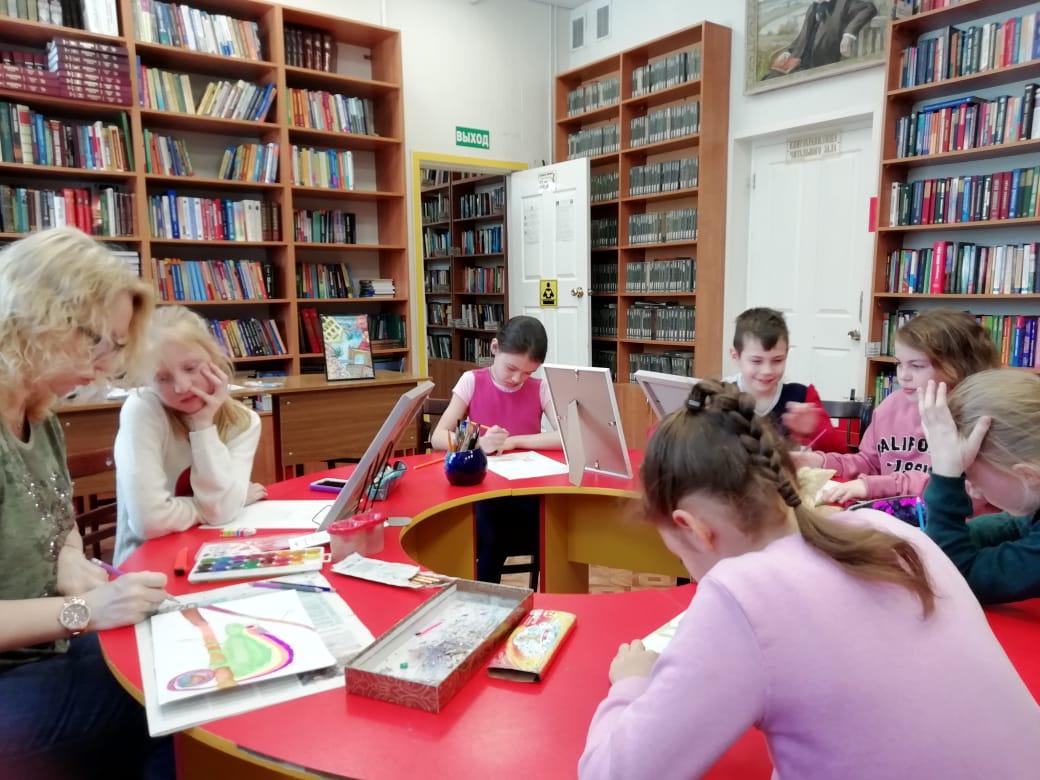Мастерская Марии Валинской - Центральная библиотека-3