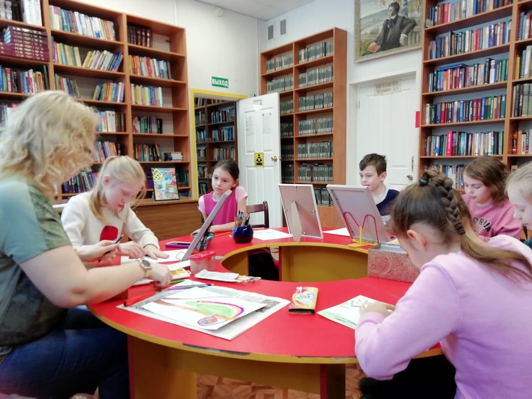 Мастерская Марии Валинской - Центральная библиотека-4