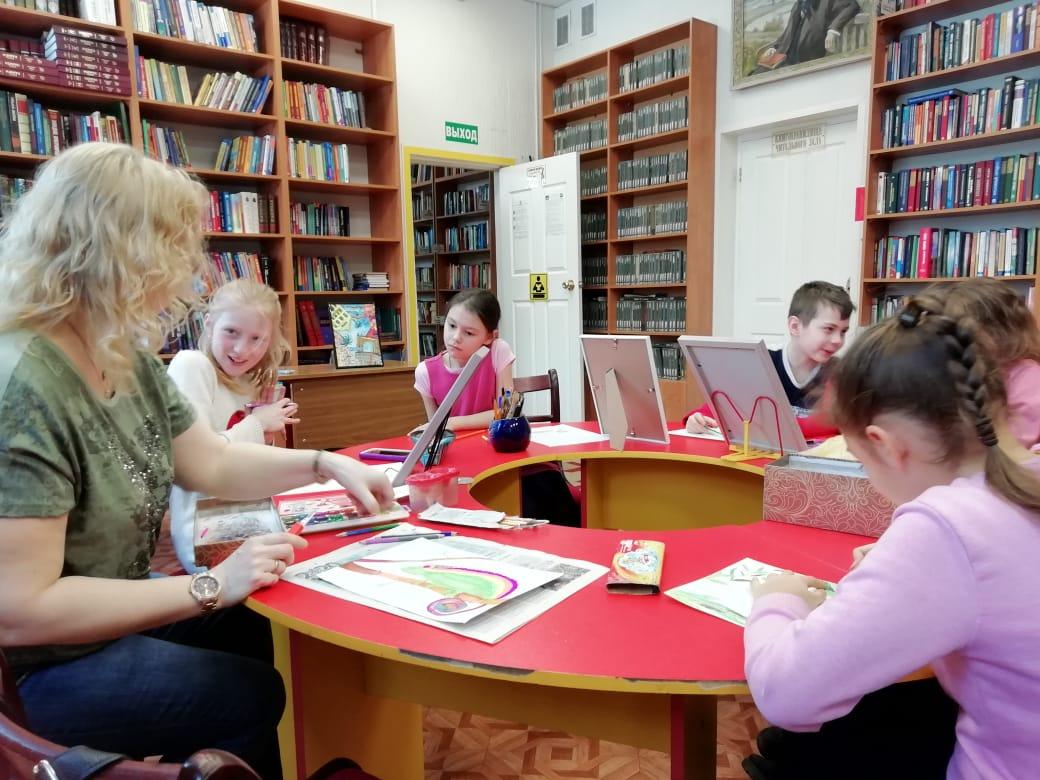 Мастерская Марии Валинской - Центральная библиотека-6