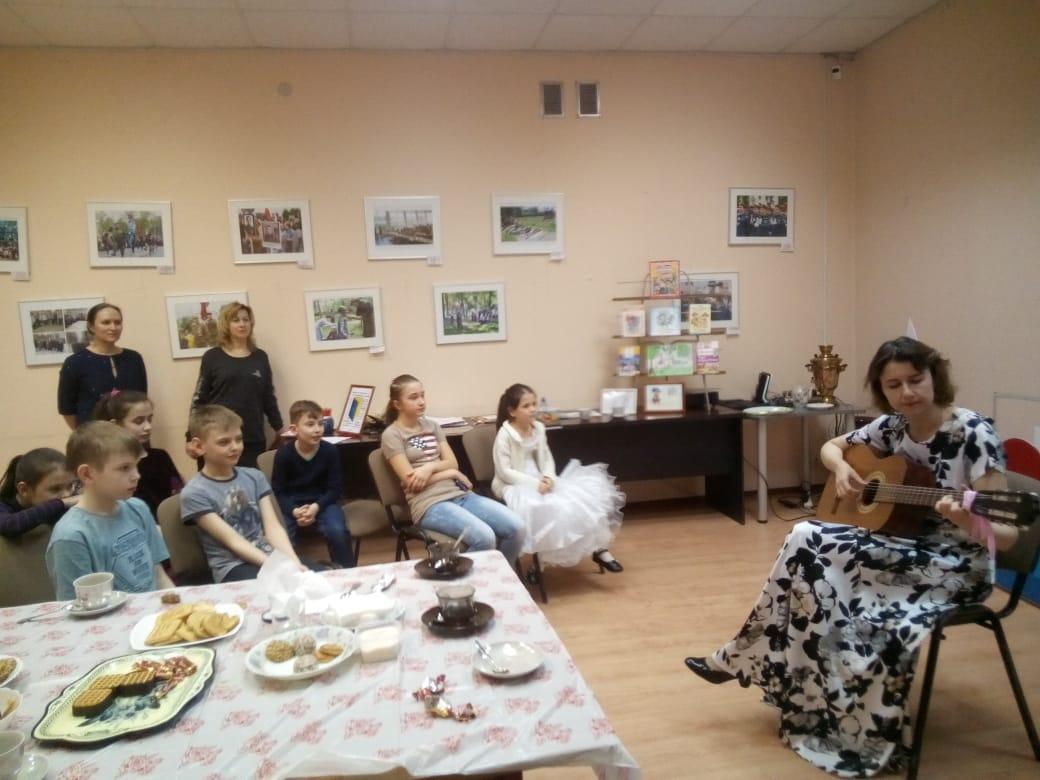 """Семейный клуб \""""Светоч\"""" Семейные чтения - Центральная библиотека-10"""