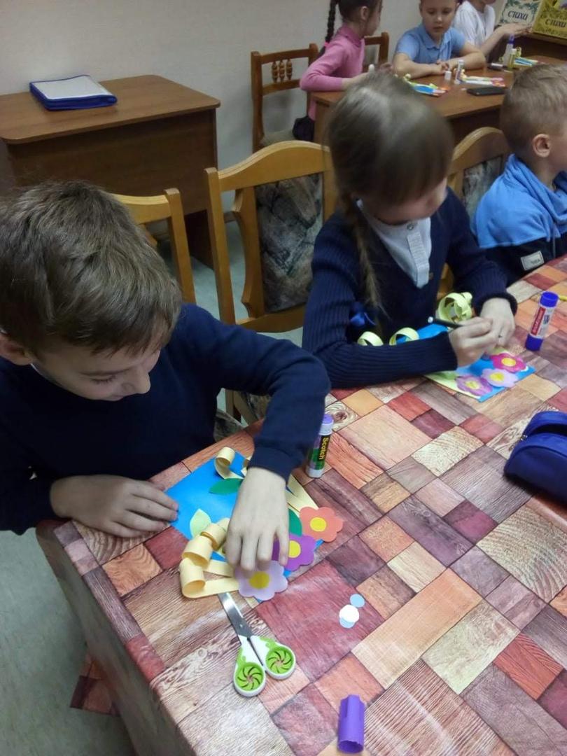 День весны в Детской библиотеке-1