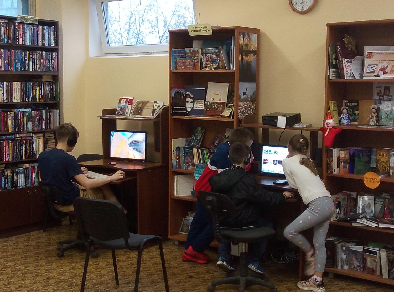Игротека в библиотеке.-3