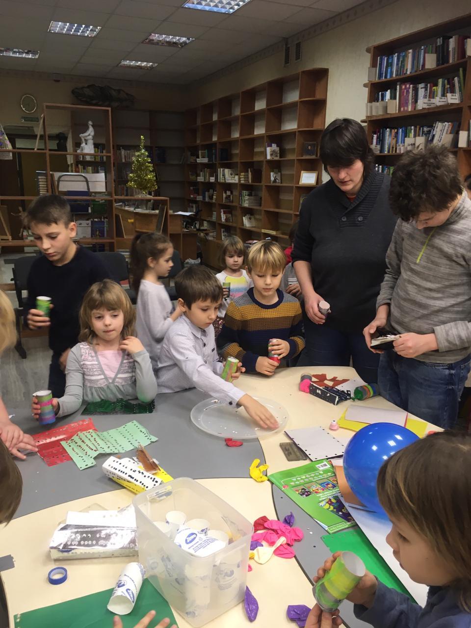 Новогодний квест в Семейном клубе настольных игр Юлии Щербиной-4