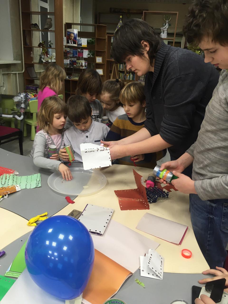Новогодний квест в Семейном клубе настольных игр Юлии Щербиной