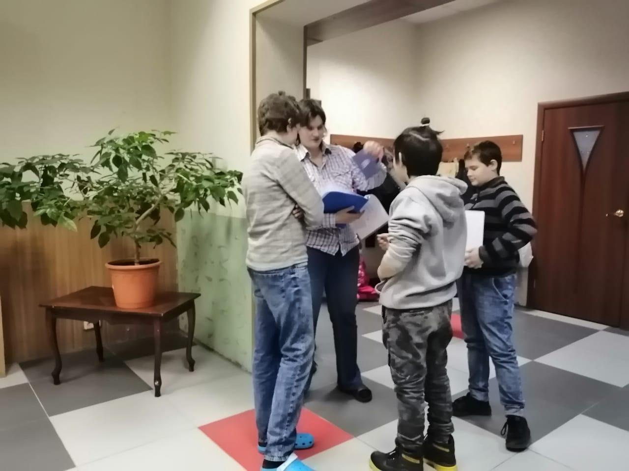 Квест по Игре Cluedo и блок Игротеки в Клубе настольных игр КАМин-6