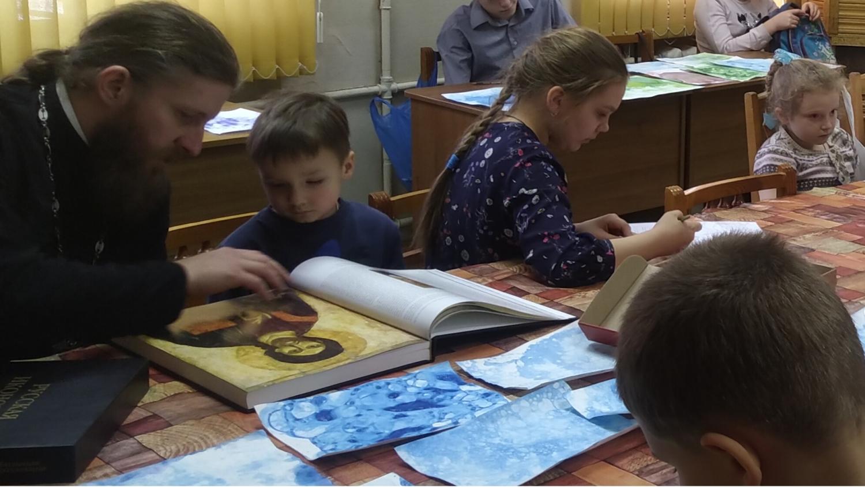 Русская иконопись - Воскресные занятия
