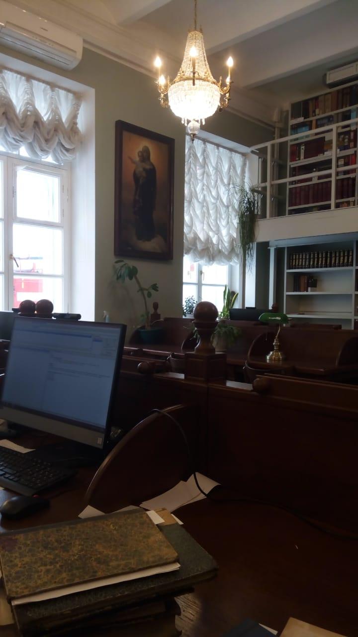 Свято-Троицкая Сергиева Лавра - путешествие в Библиотеку-4