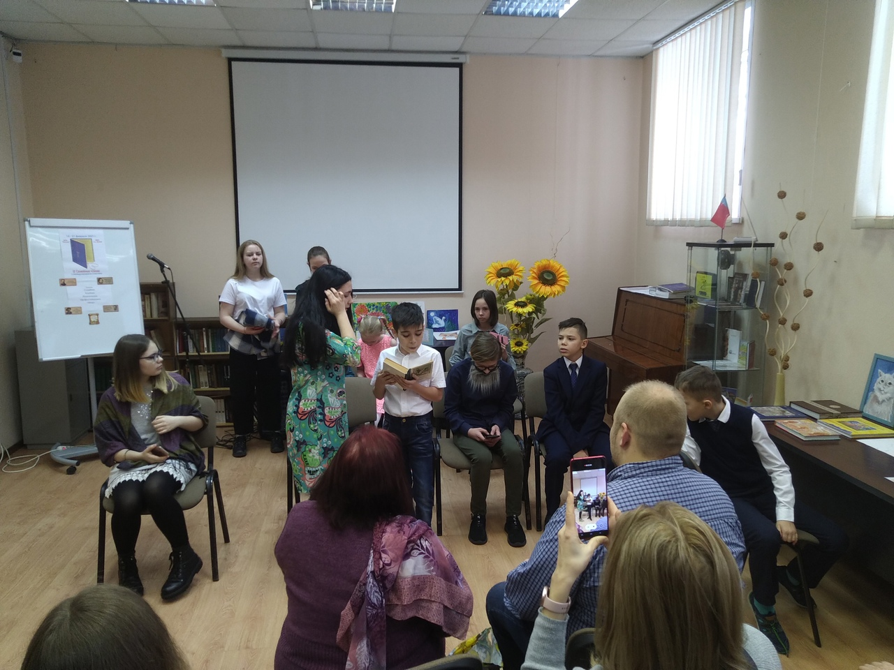 Участие Детской библиотеки в III Семейных чтениях-1