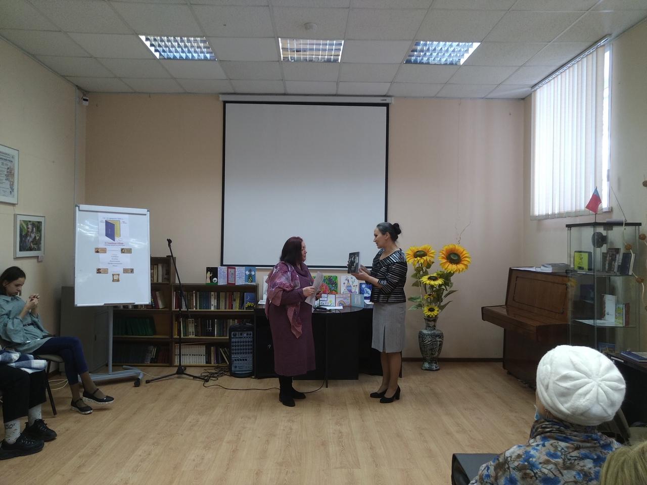 Участие Детской библиотеки в III Семейных чтениях-3