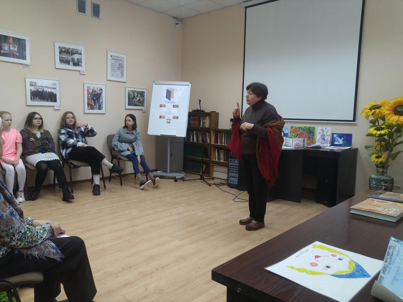 Участие Детской библиотеки в III Семейных чтениях