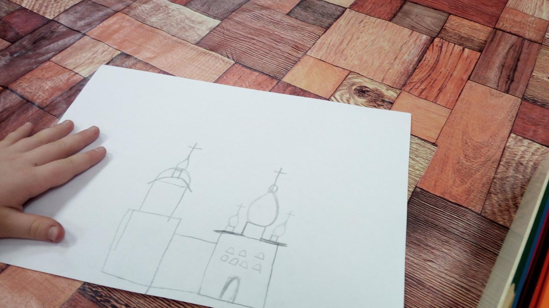 """Воскресные занятия.   \""""Храм - дом Божий\"""".   Беседа со священником"""