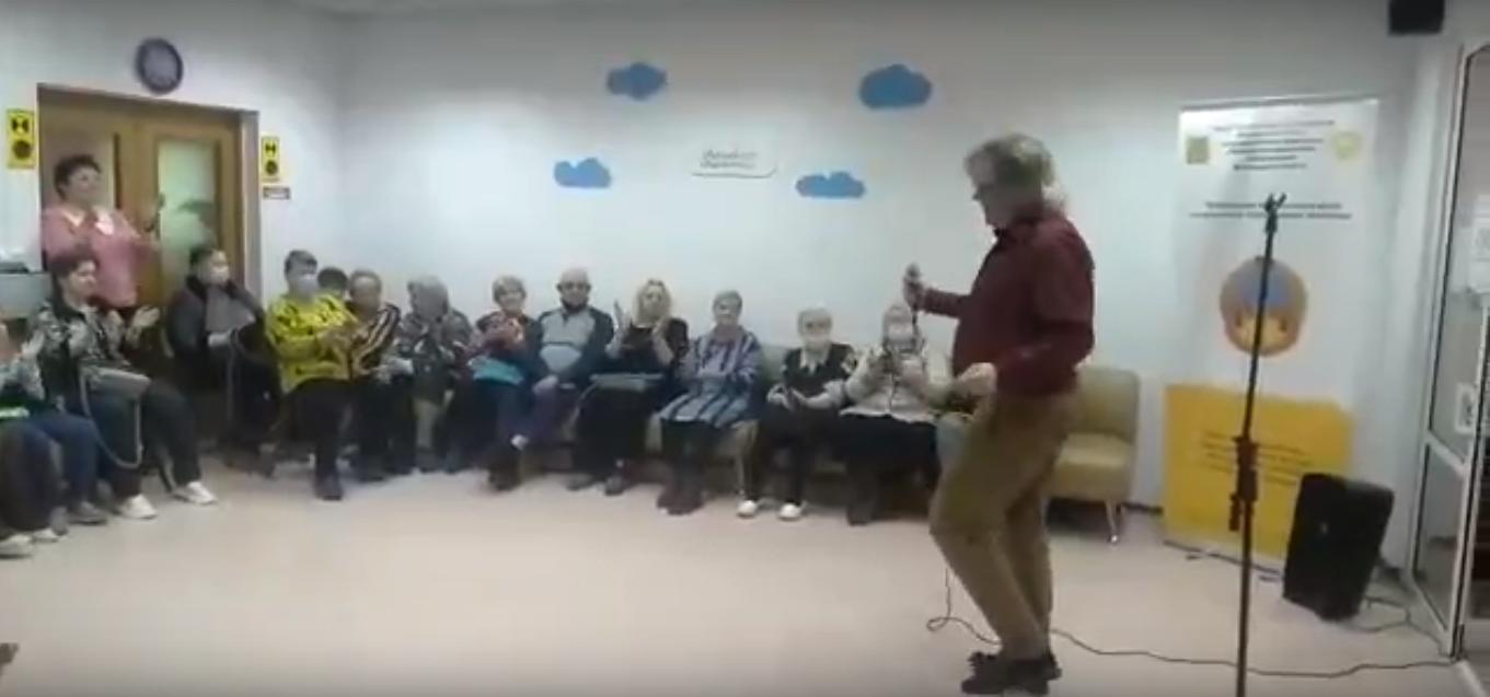 Александр ШАГАНОВ в Лобне - КЦСОН 16 апреля