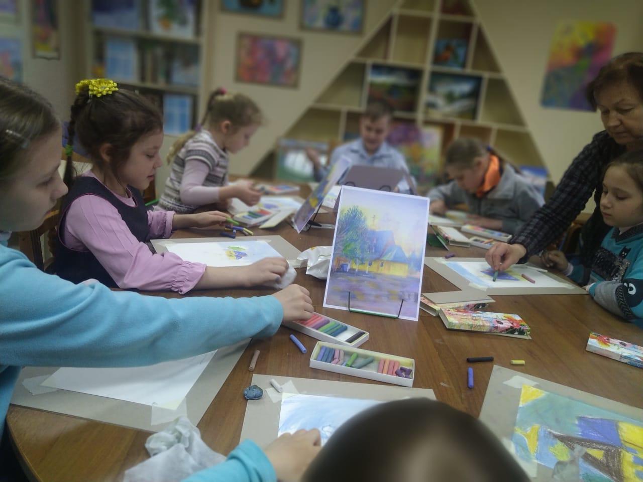 Рисуем пастелью - Творческое занятие-2