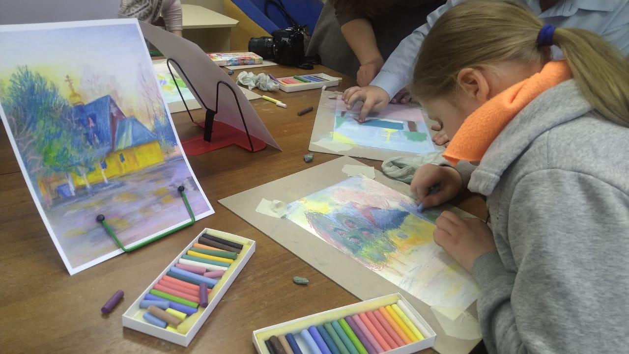 Рисуем пастелью - Творческое занятие-3